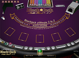 Blackjack la Circus Casino