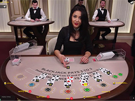Blackjack White la NetBet Casino