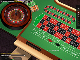Bucgarest Auto Ruleta la NetBet casino