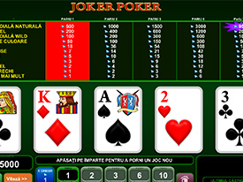 Joker Poker la Circus Casino