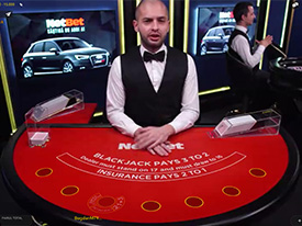 NetBet Blackjack Live Casino
